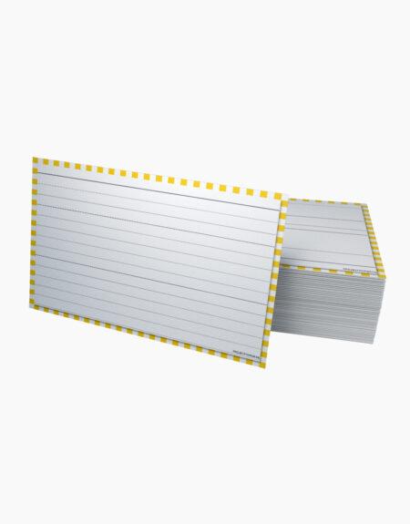 flashcards groot A6 geel