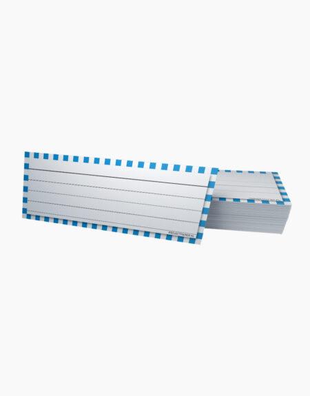 flashcards klein blauw geblokt