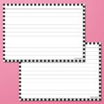 flashcards_groot_zwart_roze