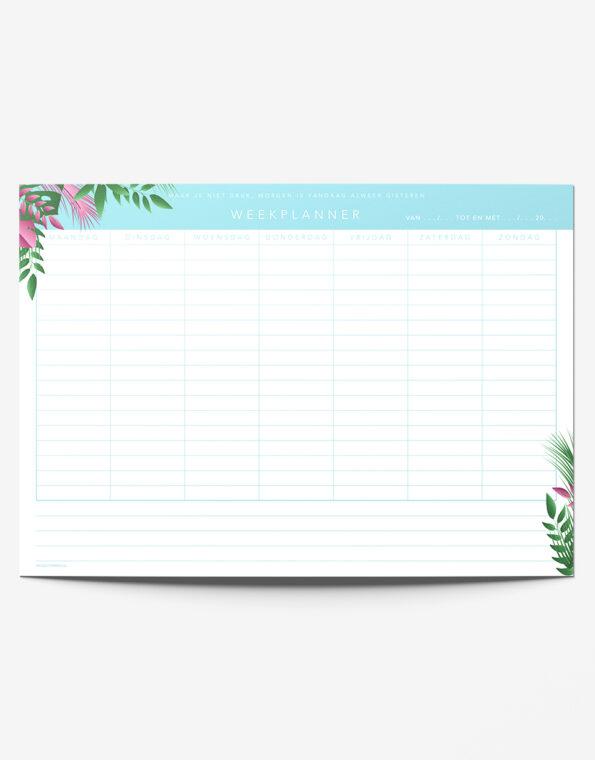 weekplanner_tropical_enkel