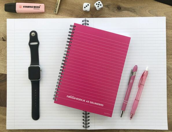 schrijven papier hand opschrijfboekje