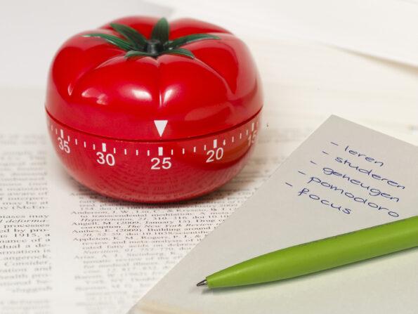 timemanagement pomodoro studeren